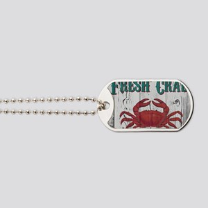 Fresh Crab Dog Tags