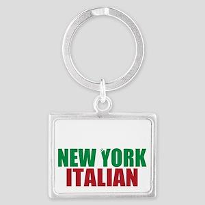 New york Italian Landscape Keychain