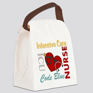 ICU Nurse Canvas Lunch Bag