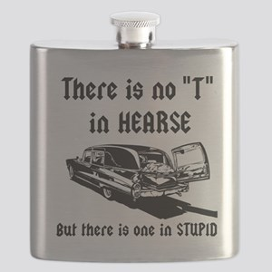 There is no T in HEARSE Flask