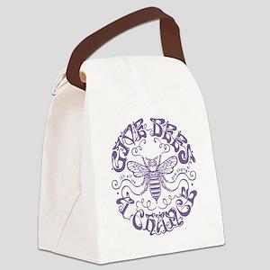 bees-chance-LTT Canvas Lunch Bag
