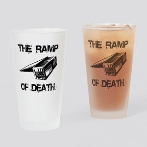 RAMP OF DEATH Drinking Glass