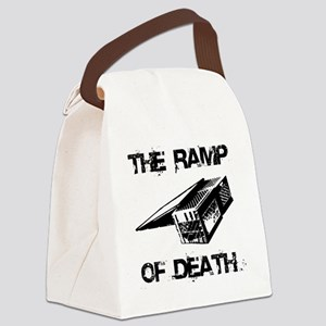 RAMP OF DEATH Canvas Lunch Bag