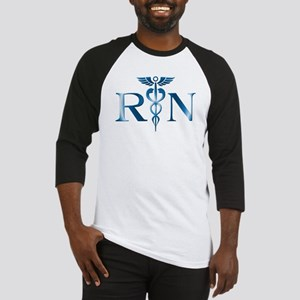 RN Nurse Caduceus Baseball Jersey