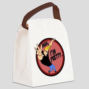 Man, I'm Pretty Canvas Lunch Bag