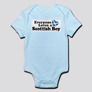 Everyone Loves a Scottish Boy Infant Bodysuit