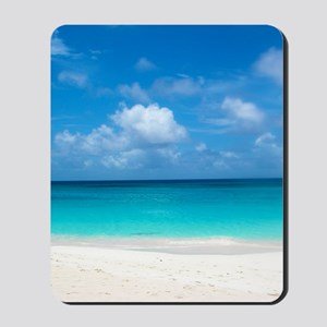 Tropical Beach View Cap Juluca Anguilla Mousepad