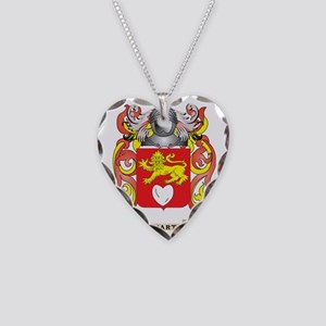 Hart Coat of Arms (Family Cre Necklace Heart Charm