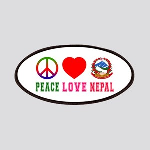 Peace Love Nepal Patches