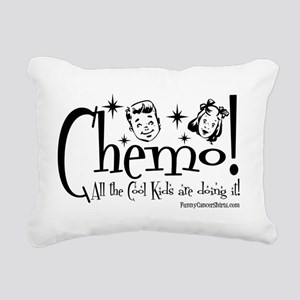 Chemo! All the Cool Kids Rectangular Canvas Pillow