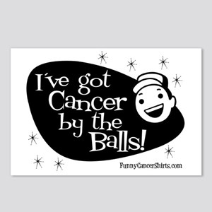 Ive Got Cancer By The Bal Postcards (Package of 8)