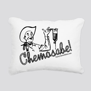 Chemosabe! Rectangular Canvas Pillow