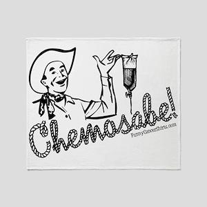 Chemosabe! Throw Blanket