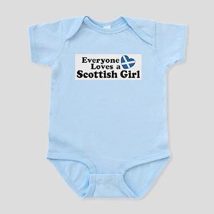 Everyone Loves a Scottish Gir Infant Bodysuit