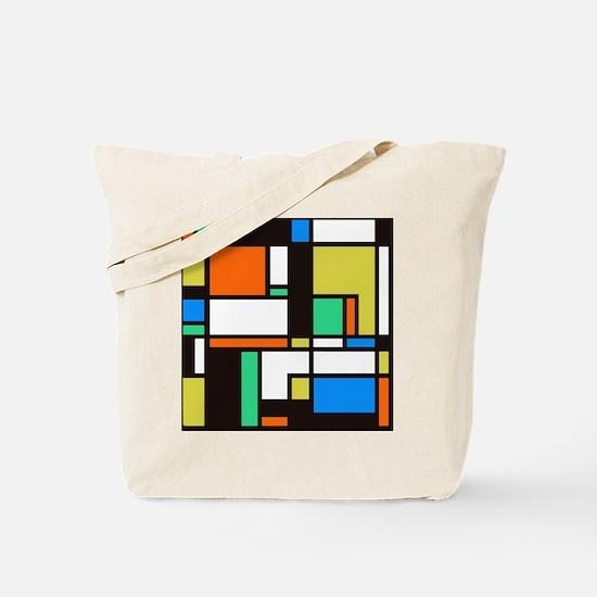 Mondrian 3 Tote Bag
