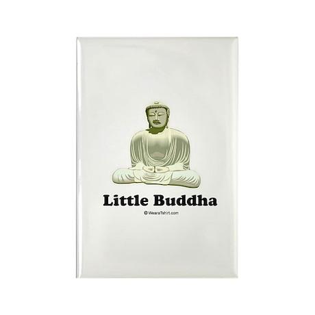 Little Buddha / Baby Humor Rectangle Magnet