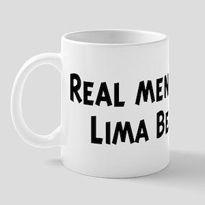 Men eat Lima Bean Mug