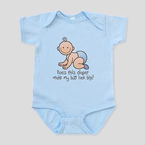 Butt Looks Big? Boy Infant Bodysuit