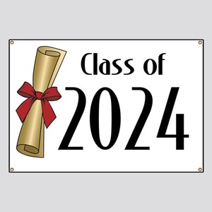 Class of 2024 Diploma Banner