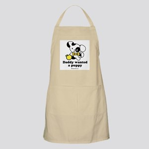 Daddy wanted a puppy BBQ Apron
