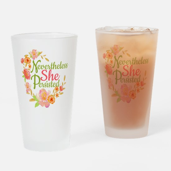 Unique Empowerment Drinking Glass