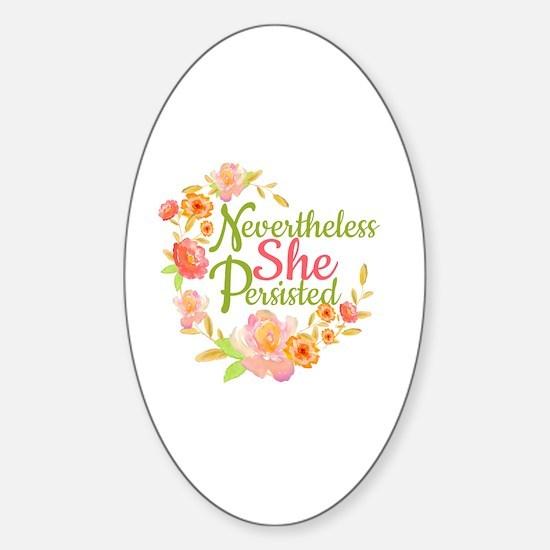Cute Nursing mom Sticker (Oval)