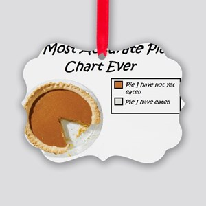 Most Accurate Pie Chart Ever Picture Ornament