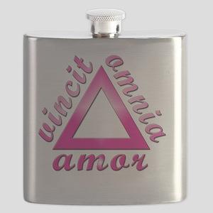 Amor Vincit Omnia Flask