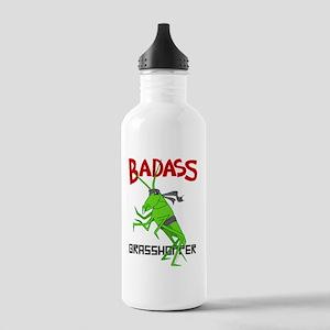 le badass grasshopper Stainless Water Bottle 1.0L