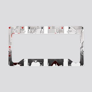 Aces Loaded License Plate Holder
