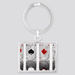 Aces Loaded Landscape Keychain