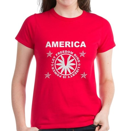 Let Freedom Ring Women's Dark T-Shirt