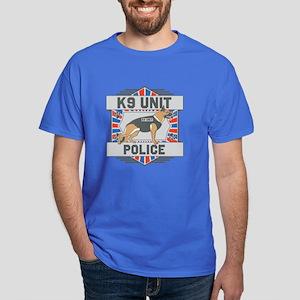 Custom German Shepherd K9 Unit Police Dark T-Shirt