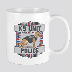 Custom German Shepherd K9 Unit Police Mug