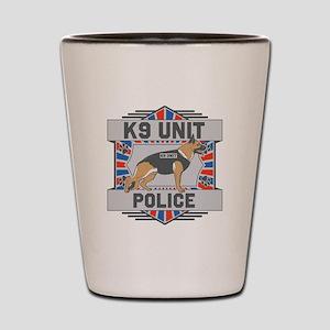 Custom German Shepherd K9 Unit Police Shot Glass