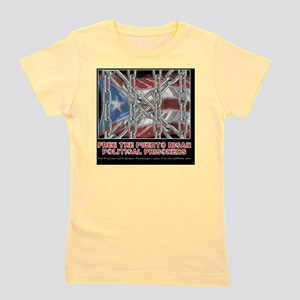 Free the Puerto Rican Political Prisone Girl's Tee