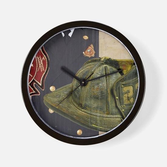 Fireman 1 Wall Clock