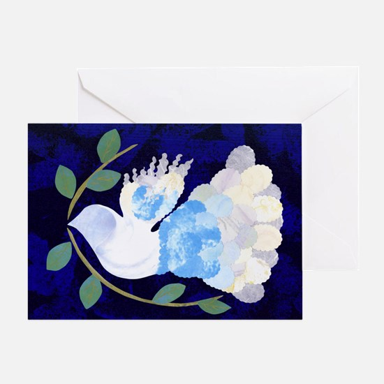 Peace Spirit Dove Greeting Card