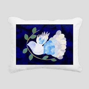 Peace Spirit Dove Rectangular Canvas Pillow
