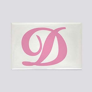 D Initial Rectangle Magnet
