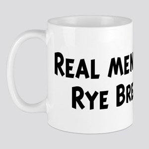 Men eat Rye Bread Mug