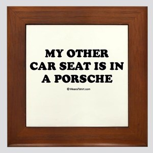 My other car seat / Baby Humor Framed Tile
