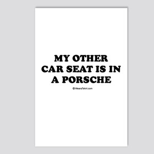 My other car seat / Baby Humor Postcards (Package
