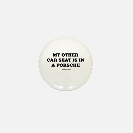 My other car seat / Baby Humor Mini Button