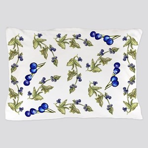 vines of blueberries Pillow Case