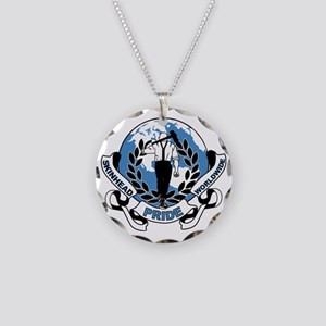 Skinhead Pride Worldwide Necklace Circle Charm