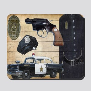Police Mousepad