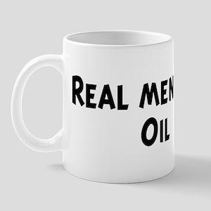 Men eat Oil Mug