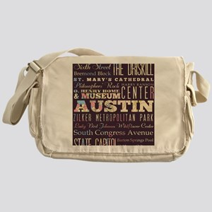 Austin Texas Messenger Bag
