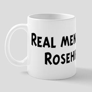 Men eat Rosehips Mug